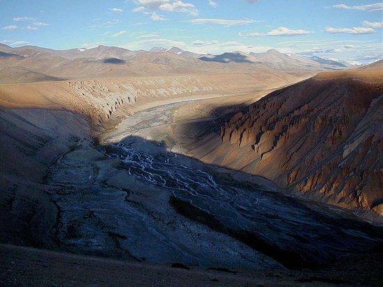 Jammu, Ινδία: Sedimentgesteine der Zanskar-Kette (1)