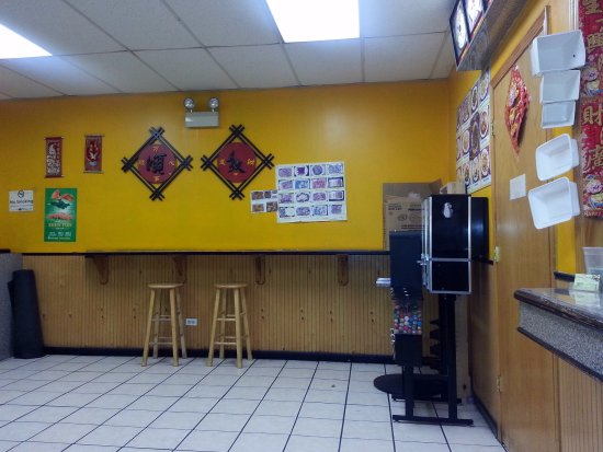 order area & take-out counter at See Thru Chinese Kitchen - Picture ...