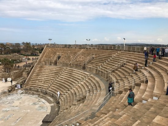 ‪Theatre at Caesarea National Park‬