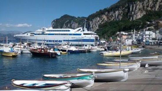 Via Camerelle: chegada em Capri