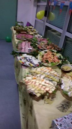 Durtal, Fransa: buffet campagnard 1ère partie