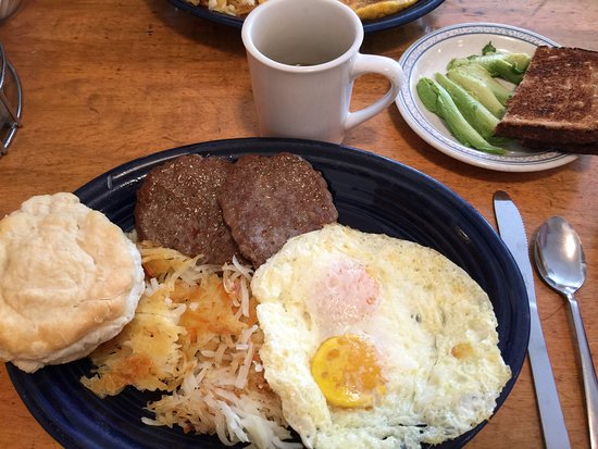 Log Cabin Cafe: Authentic, cozy, and as advertised.