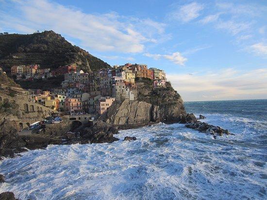 La Scogliera: Манарола в январе
