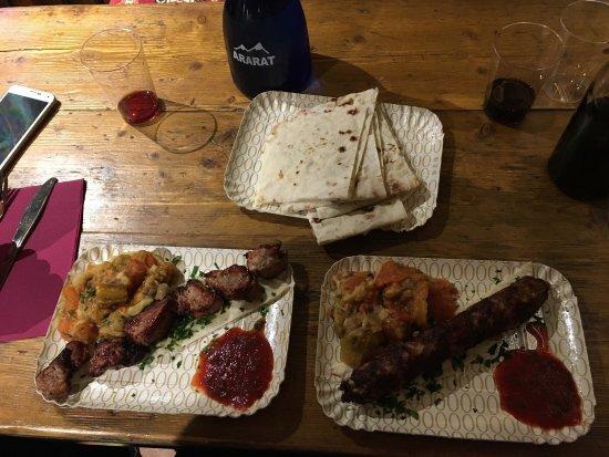 Perfect food picture of ararat le bracerie florence for Ararat armenian cuisine
