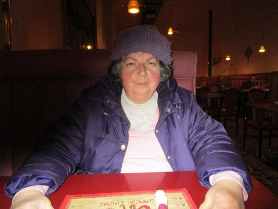 North Attleboro, MA: That is me waiting for my meal.