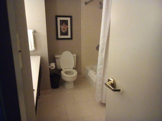 salle de bain et toilette - Picture of Sheraton New Orleans ...