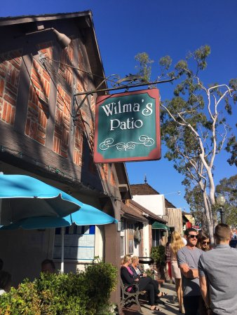Balboa Island, Californie : Wilma's Patio