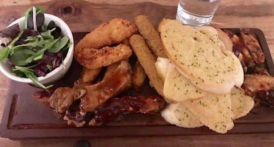 Brinklow, UK: Delicious food