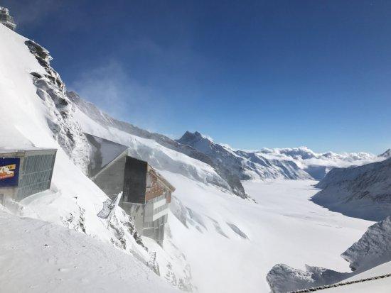 Wyżyna Berneńska, Szwajcaria: Detalhe dos alpes.