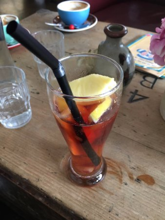 Devonport, Nowa Zelandia: I recommend you trying the ice tea!