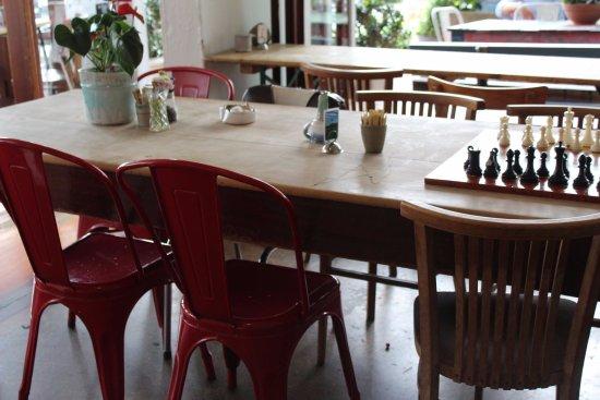 Devonport, Nowa Zelandia: Inside the cafe