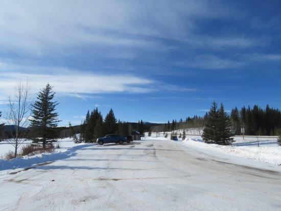 Allen Bill Pond : Allen Bill south parking area 1