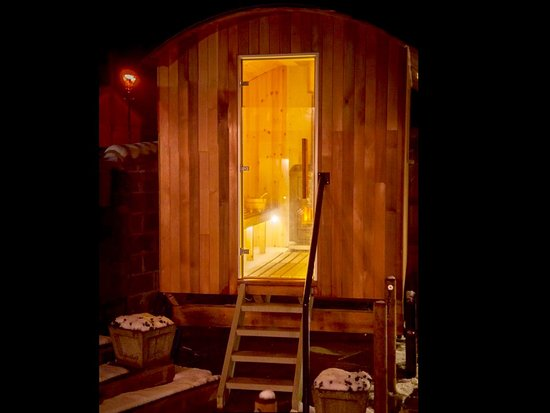 Greta Bridge, UK: Outside Sauna... This is a must x