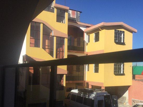 Hotel Zaculeu: Vista sector habitaciones