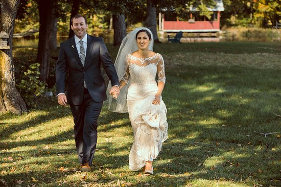 Saylorsburg, Pennsylvanie : Wedding at Stone Lake Inn