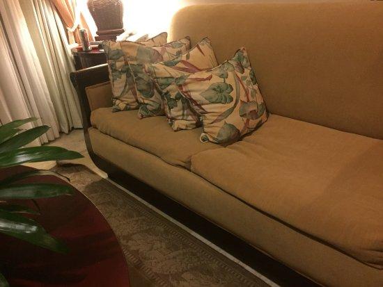 Paradisus Palma Real Golf U0026 Spa Resort: Sofa Could Use An Update