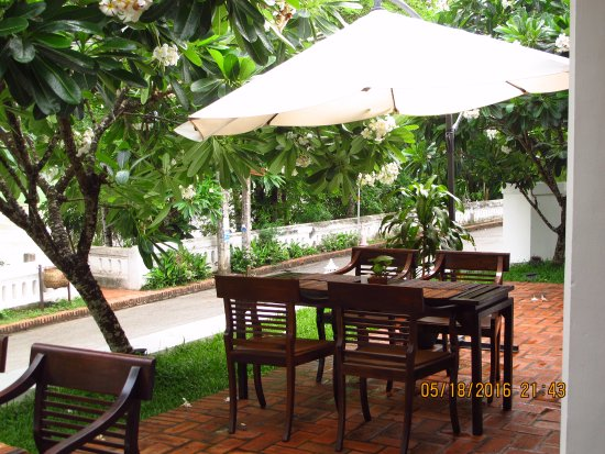 Victoria Xiengthong Palace: Breakfast area
