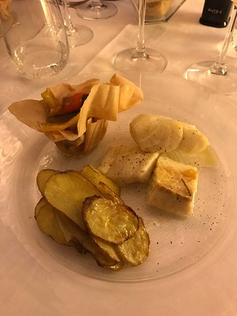 Bastia Umbra, Italy: Cena di Baccalà...buonissima!