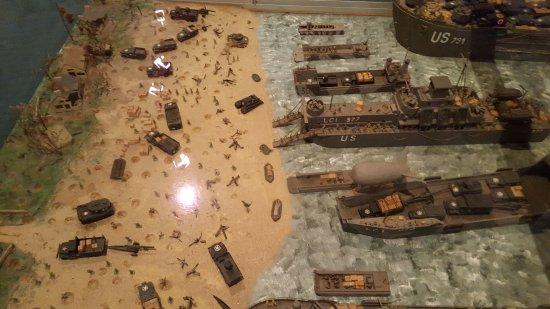 Arromanches-les-Bains, Frankrig: Musee du debarquement