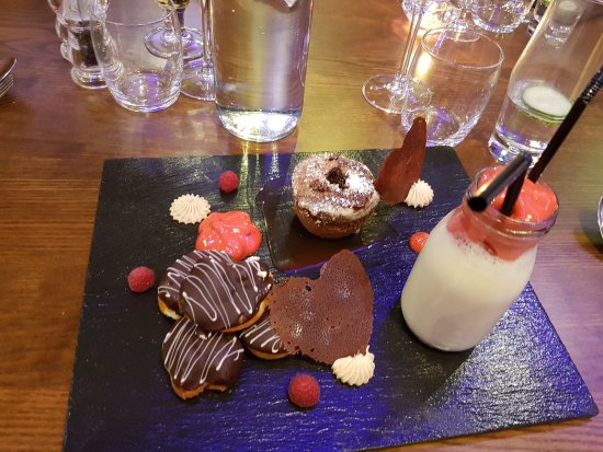 Talybont, UK: Lovely valentines meal