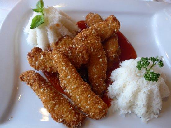 Thorishaus, Suisse : Chicken süss-sauer