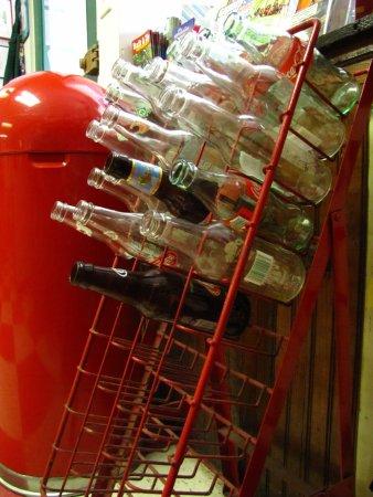 Soda Pops : Old soda bottles