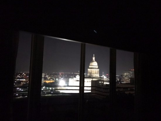 Living Room View at Night Picture of DoubleTree Suites by