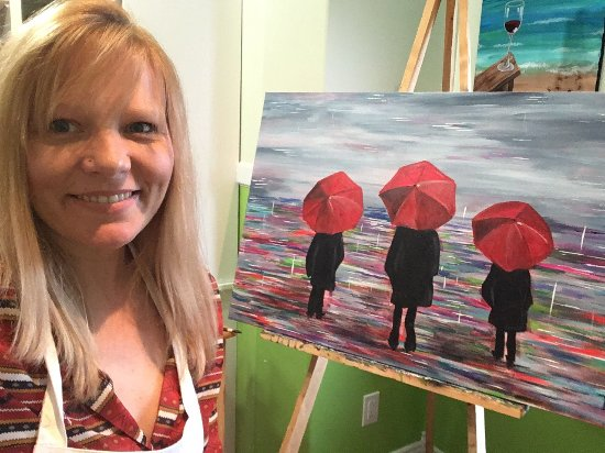 Carbonear, Canada: Tammy at the gallery