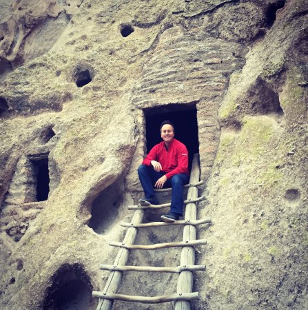 Los Alamos, NM: Be sure to climb up and explore the cave dwellings