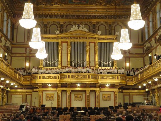 Vienna Mozart Orchestra Musikverein Golden Hall Review Of Musikverein Vienna Austria Tripadvisor