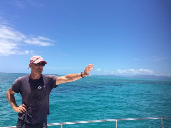 Reef Daytripper: our skipper for the day