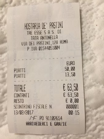Hostaria De' Pastini Pizzeria : photo1.jpg