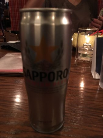 Stratton Mountain, VT: Sapporo Beer SPECIAL $16.00??
