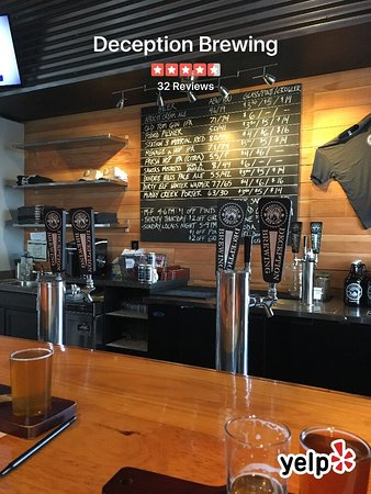 Dundee, OR: Deception Brewing Company