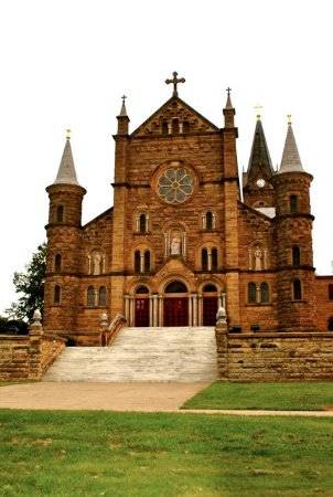 Saint Meinrad, IN: Front view