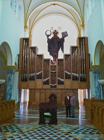 Saint Meinrad, IN: Interior Organ