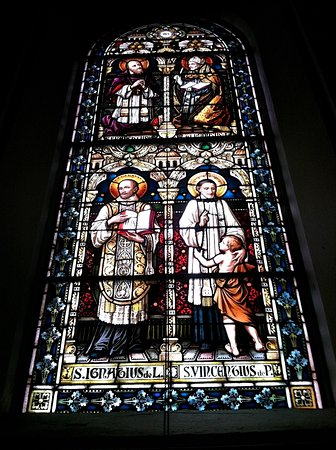 Saint Meinrad Archabbey: Stained glass art