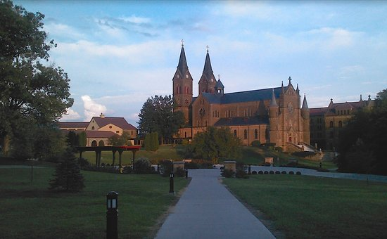 Saint Meinrad, Индиана: Afternoon in Spring
