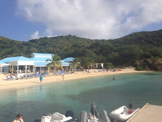 Road Town, Tortola: This is the beach you go to after you snorkel
