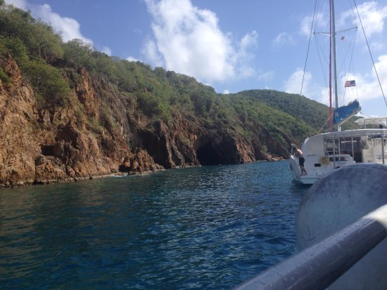 Road Town, Tortola: The caves