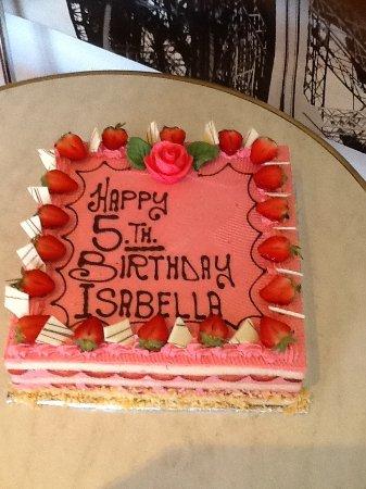 Nerang, Avustralya: Fraisier ( strawberry cake )
