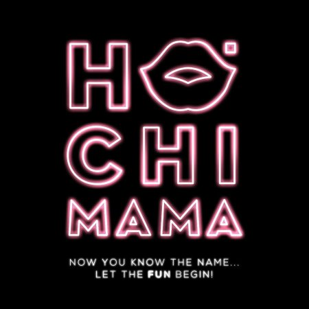 HCM neon logo