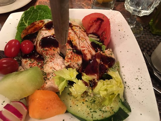 Lebanon, PA: My pretty and delicious Grilled Chicken Salad