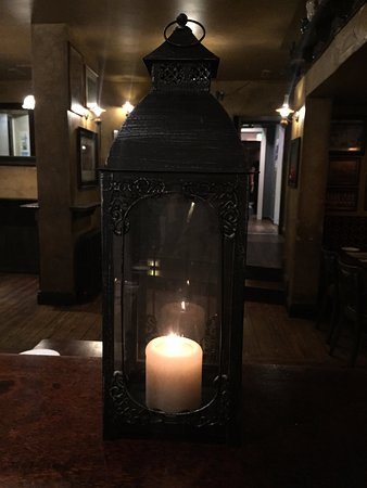 Ennis, Ireland: a candle