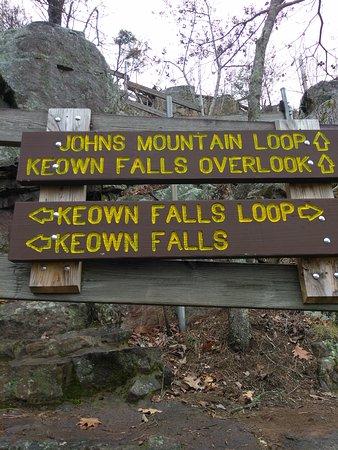 ลาฟาแยต, จอร์เจีย: Keown Falls