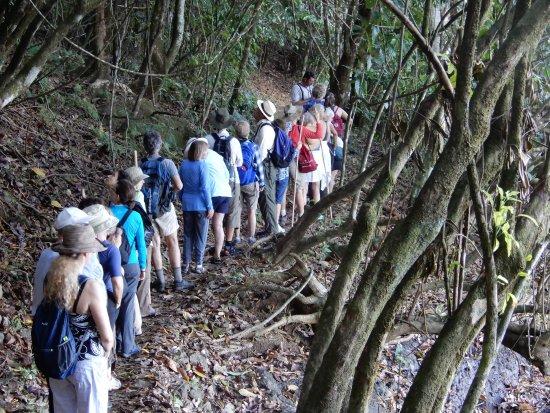 La Paloma Lodge: Hiking with friends.