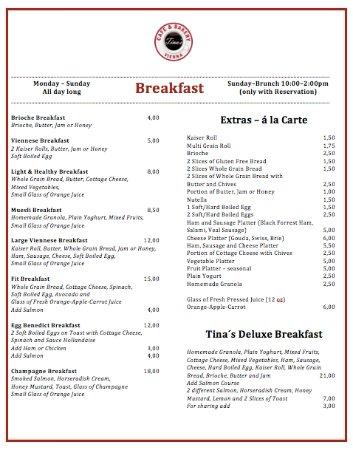 Tina S Cafe Punta Gorda