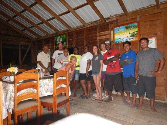 Glovers Reef Atoll, Belice: Our Belizean family