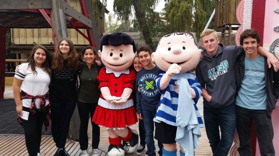 Buena Park, CA: Rides and Peanuts Characters