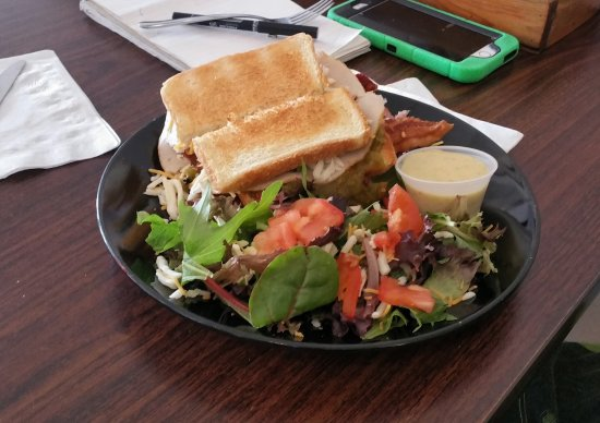 Placitas, NM: Turkey, ham, bacon avocado sandwich